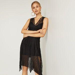 NWT $228 BCBG Maxazria Womens XXS Lace Dress